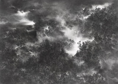 Cao Xiaoyang, 'Mountains in the Mist', 2006