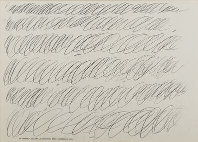 Cy Twombly, 'Cy Twombly', 1968