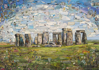 Vik Muniz, 'Stonehenge (Postcards from Nowhere)', 2015
