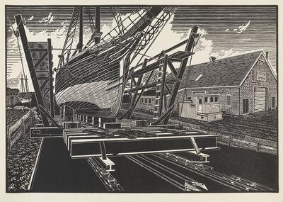 James Dodds, 'North End Ship Yard, Rockland, Maine'