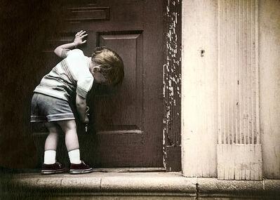 Leslie Hanes, 'Child's Doorway'