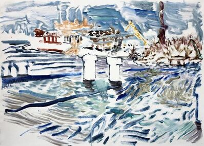 Natalia Laluq, 'Harbour after Snow on a Sunny Morning, December 11, 2017', 2017