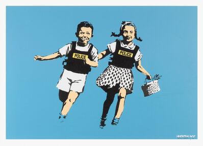 Banksy, 'Jack & Jill (Police Kids) (Unsigned)', 2005