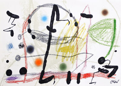 Joan Miró, 'Maravilla 13', 1975