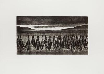 Ken Currie, 'Dead Crows, North Uist', 2015