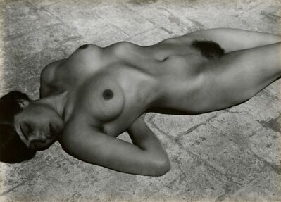 Edward Weston, 'Tina on the Azotea', 1921