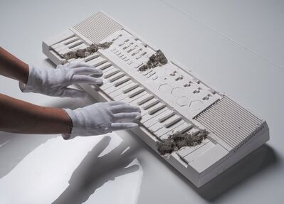 Daniel Arsham, 'Future Relic 009 Keyboard', 2018