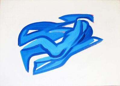 Tom Wesselmann, 'Study for Blue Nude #10', 2000
