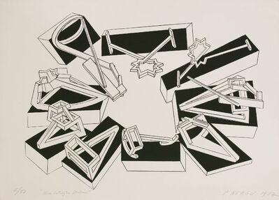 Paul Neagu, 'Nine Catalytic Stations', 1987