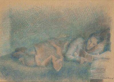 Pavel Tchelitchew, 'Model Reading', circa 1925