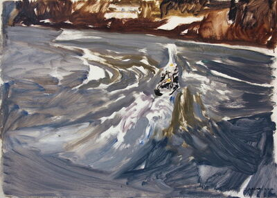 Natalia Laluq, 'Tow in Harbour, very cold and windy, December 17, 2017', 2017