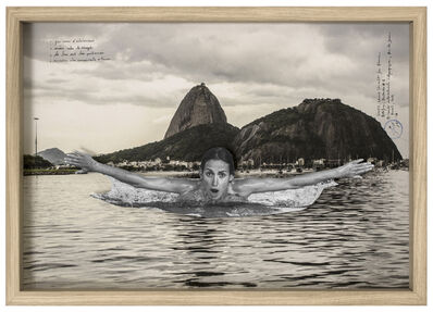 JR, 'GIANTS, Léonie PERIAULT from France, Botafogo, Recherche #1 © Comité international Olympique, Rio de Janeiro, Brazil, 2017', 2017