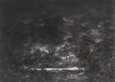 Cao Xiaoyang, 'Coming upon a River at Night', 2007