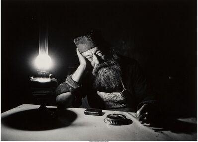 Micha Bar-Am, 'Torah Scribe Jaffa (1971), Alley in Jerusalem (1972), Father Neophitus (1967), Yom Kippur Eve (1967), Bereaved Father (1976)'