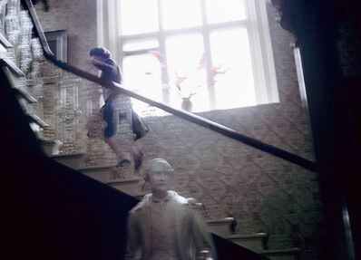 David Montgomery, 'Queen Elizabeth Running Upstairs', 1967