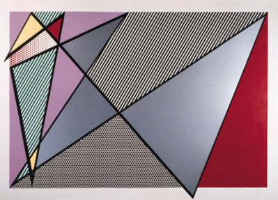 Roy Lichtenstein, 'Imperfect 224', 1988