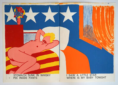 Tom Wesselmann, 'Untitled (from One Cent Life)', 1964