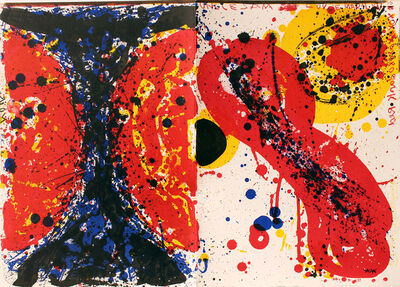Sam Francis, 'Uncle Sam, One Cent Life', 1964