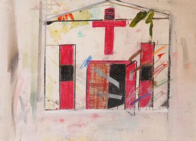 Nancy Mitchnick, 'Red Cross', 2015-2016