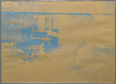 Andy Warhol, 'ELECTRIC CHAIR FS II.83', 1971