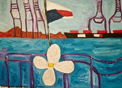 Darshan Russell, 'On a Ferryboat on the Panama Canal', 2018