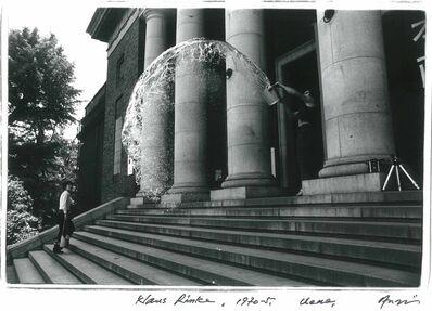 Shigeo Anzaï, 'Klaus Rinke, The 10th Tokyo Biennale '70 - Between Man and Matter, Tokyo Metropolitan Art Museum, May 1970', 1970