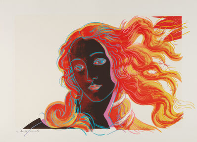 Andy Warhol, 'Sandro Botticelli, Birth of Venus, 1482, from Details of Renaissance Paintings', 1984