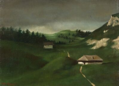Xavier Bueno, 'Paesaggio', 1942