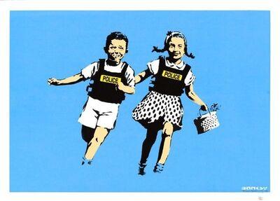 Banksy, ' Jack and Jill (Police Kids)', 2005