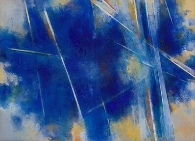John Golding, '1.1 (Splintered Light- Toledo Blue)', 1985