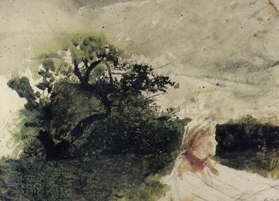 Andrew Wyeth, 'In the Orchard', 1972