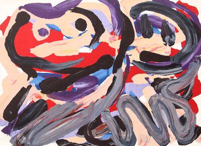 Karel Appel, 'Happy Battle', 1979