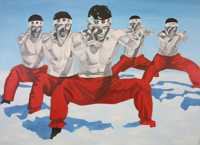 Christian Develter, 'Kroyo Drill (Soldiers in Winter)'