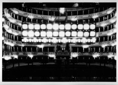 Silvia Lelli e Roberto Masotti, 'Dal palcoscenico, ponti, bilancia, Teatro alla Scala, Milano', 1983