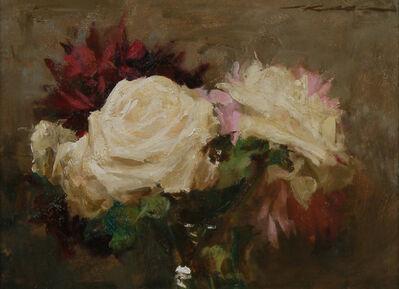 Michael Klein, 'Bouquet w/ Roses & Peonies', 2018