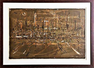 Wayne Thiebaud, 'Manhattan ', 1957