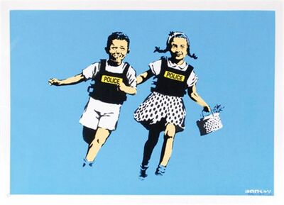 Banksy, 'Jack and Jill - Unsigned', 2005