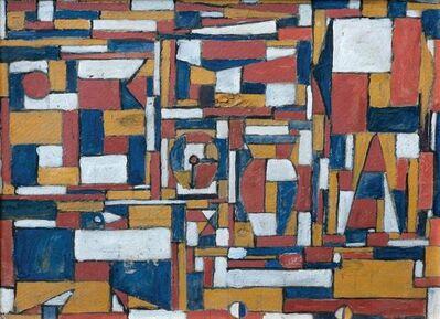 Celeste Núñez, 'Constructivo en colores primarios'