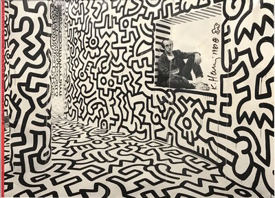 Keith Haring, 'Pop Shop Poster', 1987