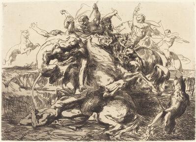 François-Nicolas Chifflart, 'Surprise', 1865