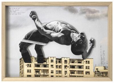 JR, 'GIANTS, Mohamed YOUNES IDRISS from Sudan, Recherche #2 © Comité international Olympique, Rio de Janeiro, Brazil, 2017', 2017