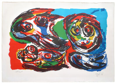 Karel Appel, 'Four Heads', 1966