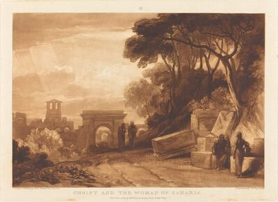 Joseph Mallord William Turner and Samuel William Reynolds I, 'The Woman of Samaria', published 1819