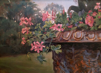 Chas Fagan, 'Urn and Flowers', 2004