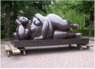 Fernando Botero, 'Donna Sdraiata'