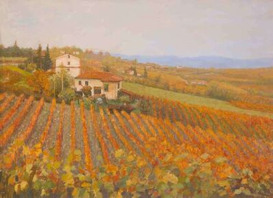 Nicholas Verrall, 'Vineyard in Tuscany', 2018