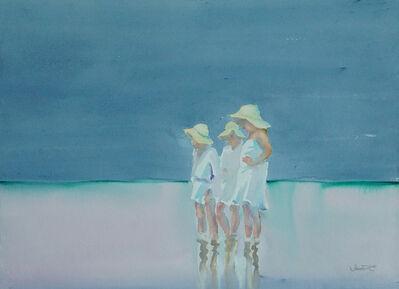 Dalva Duarte, 'Beach Scene VIII', 1980-1990