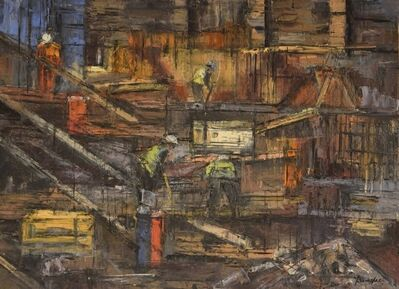 Steven Bewsher, 'Construction Workers'