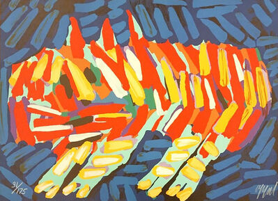 Karel Appel, ' Clown Cat', ca. 1970