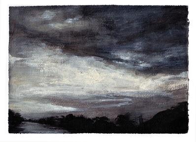 Margaret Ezekiel, 'Riverwalk (study)'